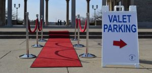 Make your next event memorable with valet parking